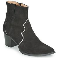 Chaussures Femme Bottines Karston APLAX Noir