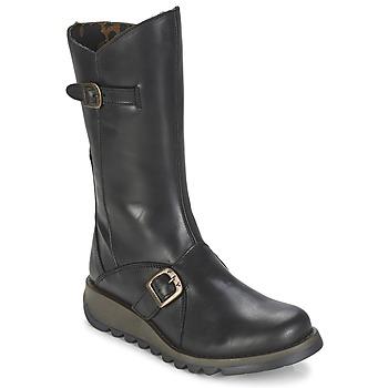 Chaussures Femme Bottes ville Fly London MES2 Noir