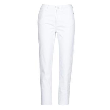 Vêtements Femme Pantalons 5 poches Only ONLEMILY Blanc