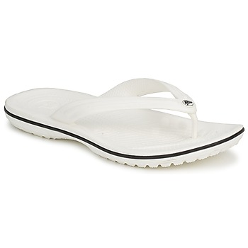 Chaussures Tongs Crocs CROCBAND FLIP White