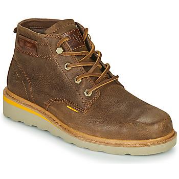 Chaussures Homme Boots Caterpillar JACKSON MID Marron