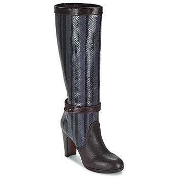 Chaussures Femme Bottes ville Chie Mihara NERVE Aubergine