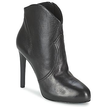 Chaussures Femme Low boots Ash BLOG Noir