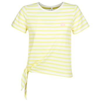 Vêtements Femme T-shirts manches courtes Only ONLBRAVE Jaune