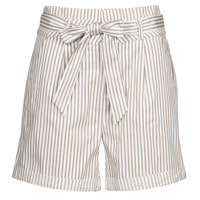 Vêtements Femme Shorts / Bermudas Vero Moda VMEVA Blanc / Beige