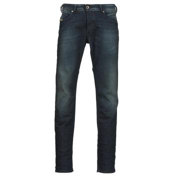 Vêtements Homme Jeans droit Diesel BELHER Bleu foncé