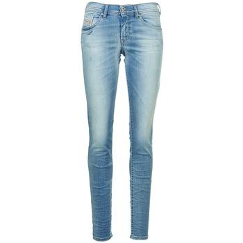 Vêtements Femme Jeans slim Diesel FRANCY Bleu clair