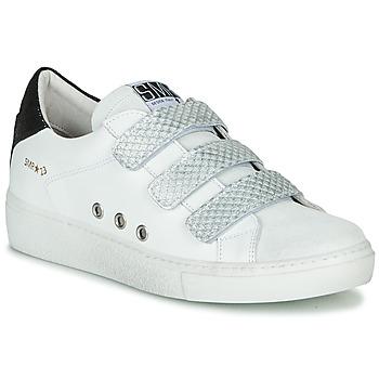 Chaussures Femme Baskets basses Semerdjian VIP Blanc / Argenté