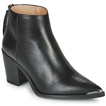 Chaussures Femme Bottines Unisa MIRTE Noir