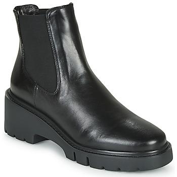 Chaussures Femme Boots Unisa JEROME Noir