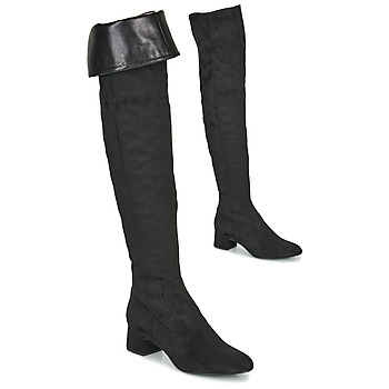 Chaussures Femme Cuissardes Unisa LUKAS Noir