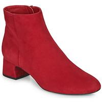Chaussures Femme Bottines Unisa LOLI Rouge