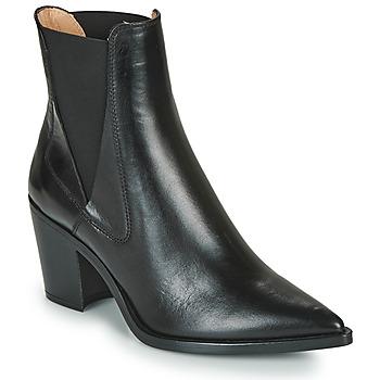 Chaussures Femme Bottines Unisa MUNIS Noir