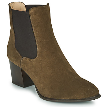 Chaussures Femme Bottines Unisa MAZE Kaki