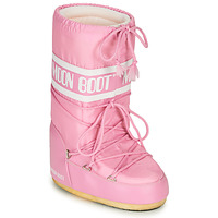 Chaussures Femme Bottes de neige Moon Boot MOON BOOT NYLON Rose