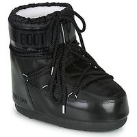 Chaussures Femme Bottes de neige Moon Boot MOON BOOT CLASSIC LOW GLANCE Noir