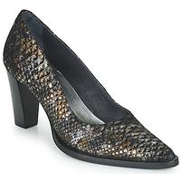 Chaussures Femme Escarpins Myma KOLA Noir / Doré