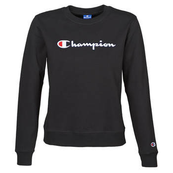 Vêtements Femme Sweats Champion HEAVY COMBED COTTON FLEECE Noir