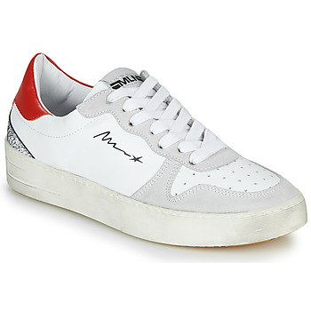 Chaussures Femme Baskets basses Meline STRA5007 Blanc / Rouge