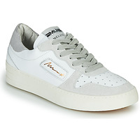 Chaussures Femme Baskets basses Meline STRA-A-1060 Blanc / Beige