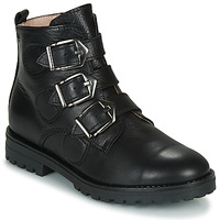 Chaussures Fille Boots Acebo's 9843VE-NEGRO-T Noir