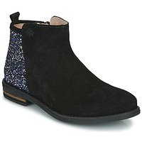 Chaussures Fille Boots Acebo's 8035-NEGRO-T Noir