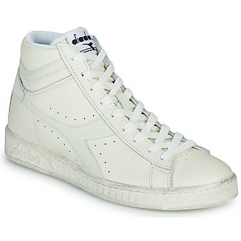 Chaussures Baskets montantes Diadora GAME L HIGH WAXED Blanc