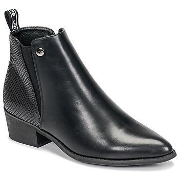 Chaussures Femme Boots Les Petites Bombes ANTONELLA Noir