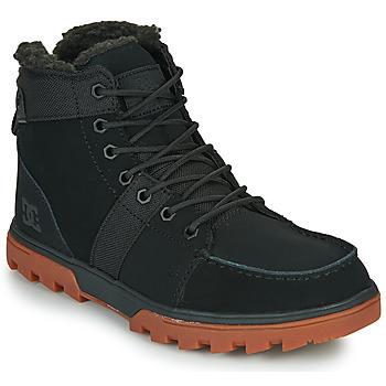 Chaussures Homme Boots DC Shoes WOODLAND Noir