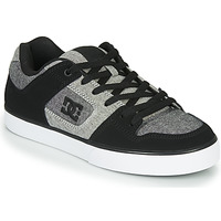 Chaussures Homme Baskets basses DC Shoes PURE Noir / Gris