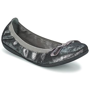 Chaussures Air max tnFemme Ballerines / babies Les P'tites Bombes ELLA METAL Argent