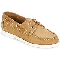 Chaussures Homme Chaussures bateau Casual Attitude REVORO Marron