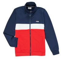 Vêtements Garçon Vestes de survêtement Fila MANOLO Marine / Blanc / Rouge