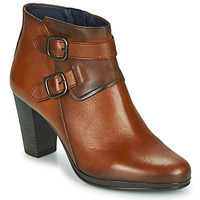 Chaussures Femme Bottines Dorking JIN Marron