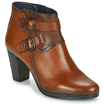 Chaussures Femme Bottines Dorking JIN Marron