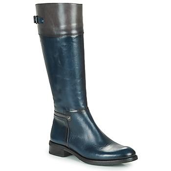 Chaussures Femme Bottes ville Dorking TIERRA Bleu / Gris