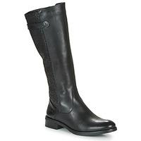Chaussures Femme Bottes ville Dorking TIERRA Noir