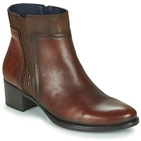Chaussures Femme Bottines Dorking ALEGRIA Marron