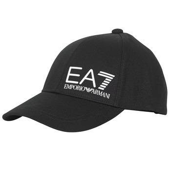 Accessoires textile Homme Casquettes Emporio Armani EA7 TRAIN CORE ID M LOGO CAP Noir