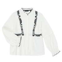 Vêtements Fille Chemises / Chemisiers Ikks XR12022 Blanc