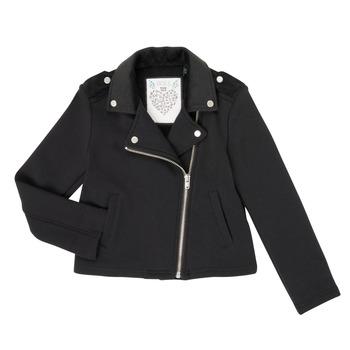 Vêtements Fille Gilets / Cardigans Ikks XR17002 Noir