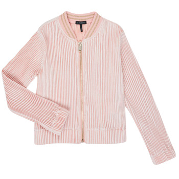 Vêtements Fille Gilets / Cardigans Ikks XR17022 Rose