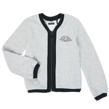 Vêtements Fille Gilets / Cardigans Ikks XR17062 Gris