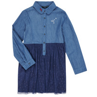 Vêtements Fille Robes courtes Ikks XR30122 Bleu