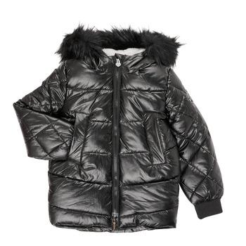 Vêtements Fille Parkas Ikks XR41122 Noir
