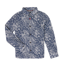Vêtements Garçon Chemises manches longues Ikks XR12023 Bleu