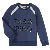 Vêtements Garçon Sweats Ikks XR15093 Bleu