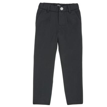 Vêtements Garçon Pantalons 5 poches Ikks XR23023 Noir