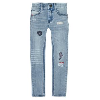 Vêtements Garçon Jeans slim Ikks XR29053 Bleu