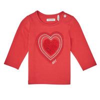 Vêtements Fille T-shirts manches longues Ikks XR10010 Orange